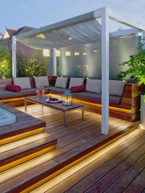 Deck WPC sau terasa lemn? Ce  alegi pentru spatiul exterior?
