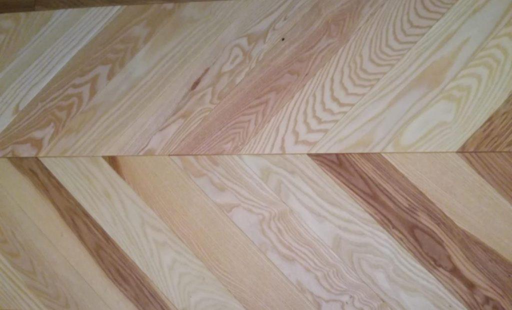 Parchet chevron lemn stratificat nefinisat