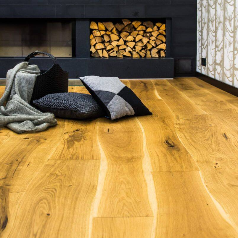 Parchet lemn Bole personalizat - amenajari interioare rustic
