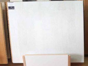Parchet alb din lemn - stratificat