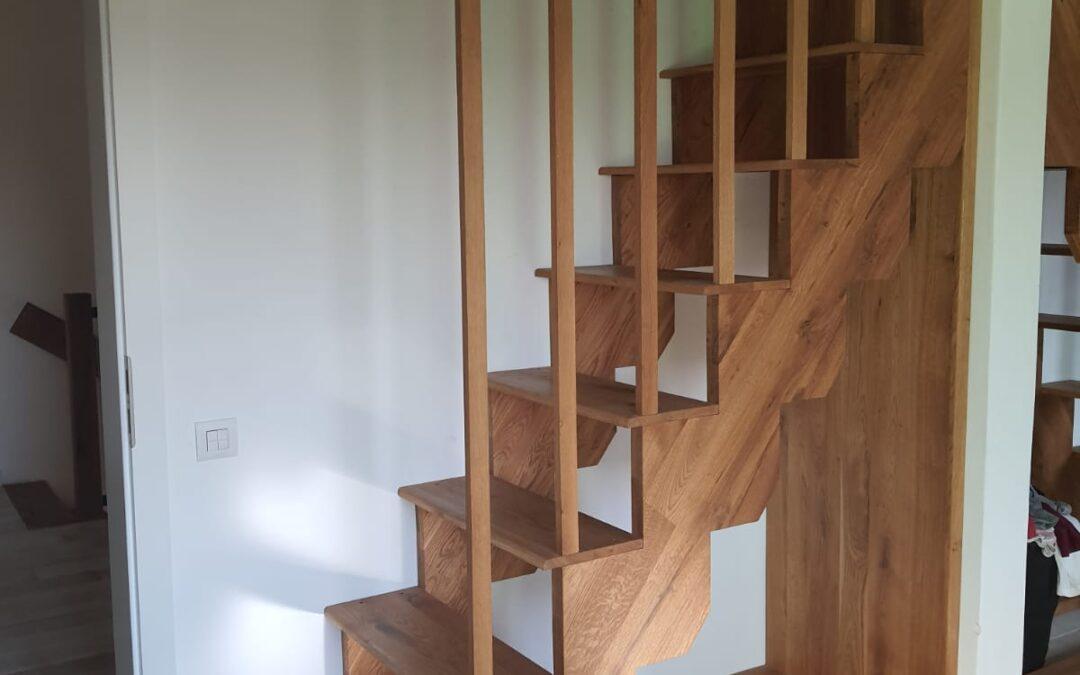 Montaj trepte din lemn pas cu pas