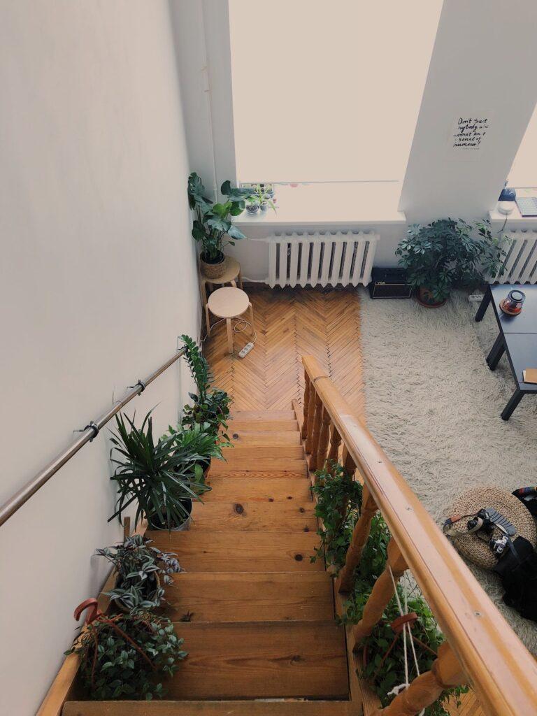 scari din lemn amenajari interioare
