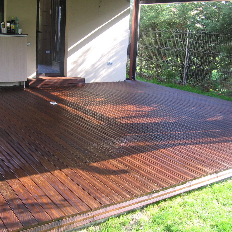 Întreținerea deckului din lemn exotic - Alma Parchet - Superparchet - Cum se întreține corespunzător deck-ul din lemn exotic?